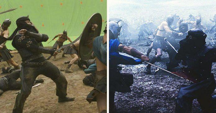 escenas antes y despues de los efectos especiales banner