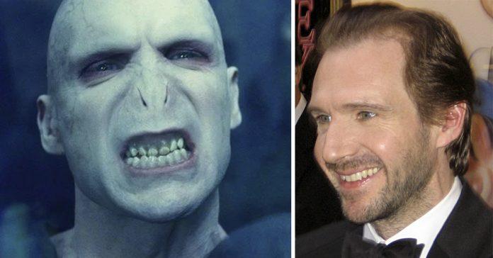 10 fotos que muestran el antes y el despues de los actores con el maquillaje