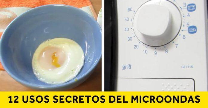 12 cosas que no sabias microondas banner