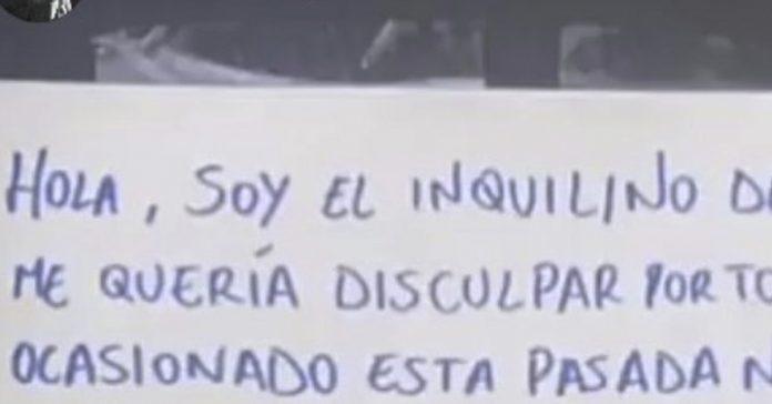 un vecino la lia en su bloque y cuelga en el portal una carta de disculpas que ya es viral banner