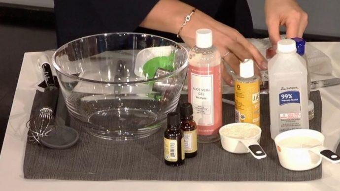3 Pasos para elaborar fácilmente tu propio Gel desinfectante de manos para el Coronavirus según la OMS
