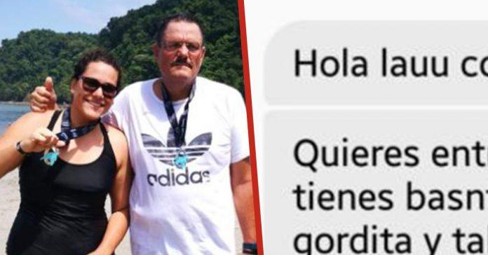mujer publica foto facebook indignante con su padre