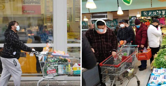 tengo llevar mascarilla estornudar supermercado toser banner