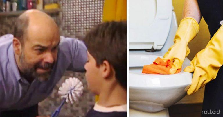 6 Pasos para limpiar rápidamente el váter o inodoro en 3 minutos